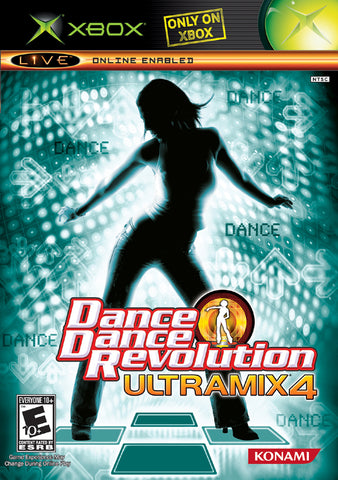 Dance Dance Revolution Ultramix 4 - Xbox