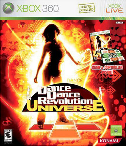 Dance Dance Revolution Universe (Bundle) - Xbox 360
