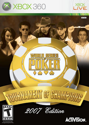 World Series of Poker: Tournament of Champions - Xbox 360