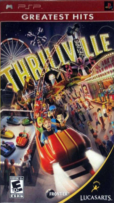 Thrillville (Greatest Hits) - PSP