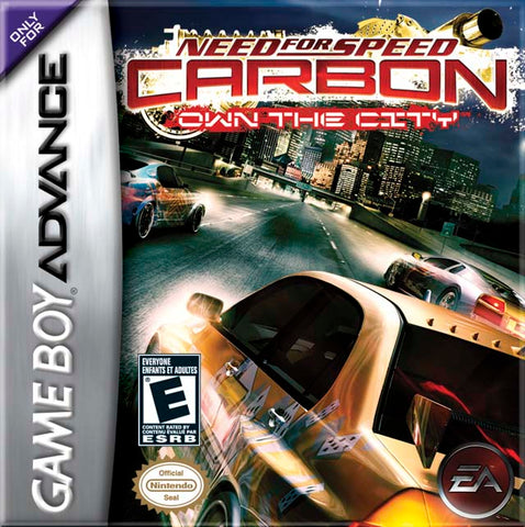 Need for Speed Carbon: Own the City - Game Boy Advance [USED]
