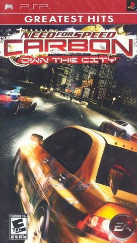 Need for Speed Carbon: Own the City (Greatest Hits) - PSP