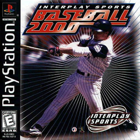 Interplay Sports Baseball 2000 - PlayStation