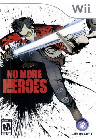 No More Heroes - Nintendo Wii [USED]