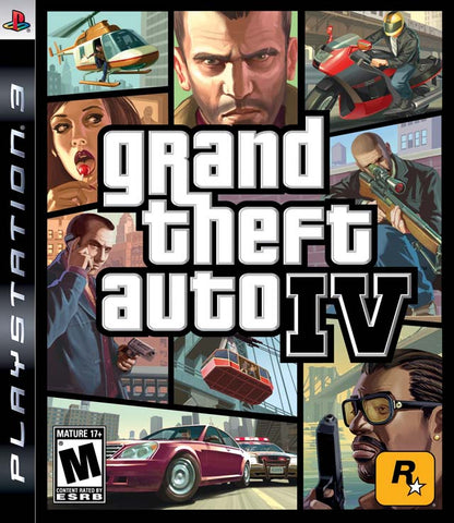 Grand Theft Auto IV - PlayStation 3 (Action & Adv, 2008, US)