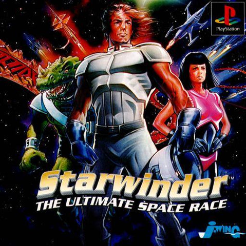 Starwinder: The Ultimate Space Race - PlayStation (Japan)