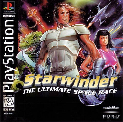 Starwinder: The Ultimate Space Race - PlayStation
