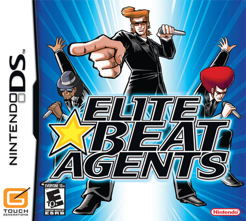 Elite Beat Agents - Nintendo DS