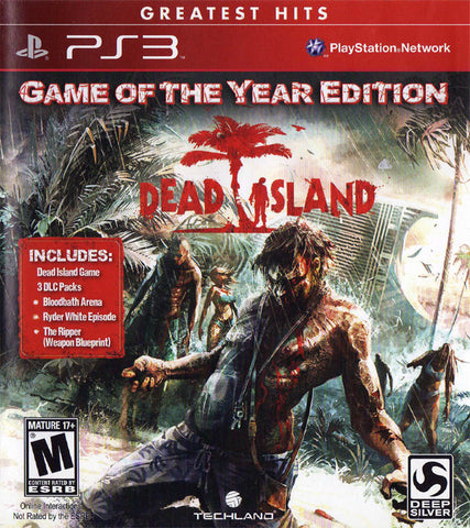Dead Island: Game of the Year Edition (Greatest Hits) - PlayStation 3
