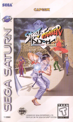 Street Fighter Alpha: Warriors' Dreams - SEGA Saturn [USED]