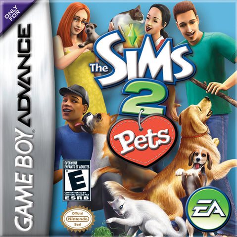 The Sims 2: Pets - Game Boy Advance [USED]