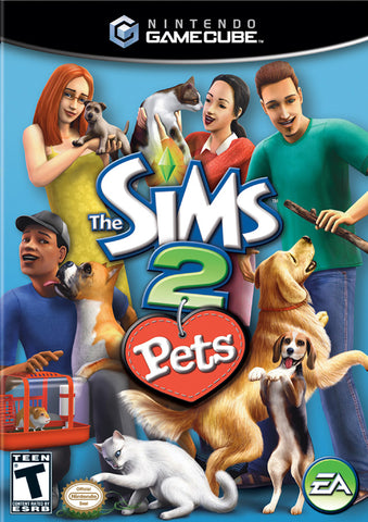 The Sims 2: Pets - GameCube [USED]