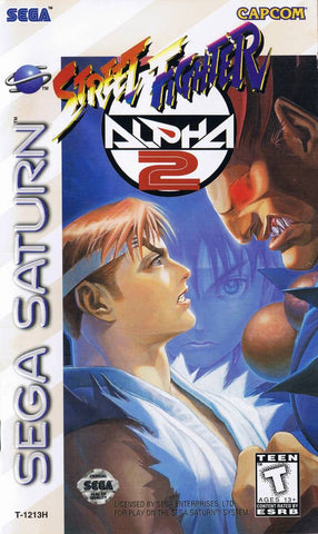Street Fighter Alpha 2 - SEGA Saturn [USED]