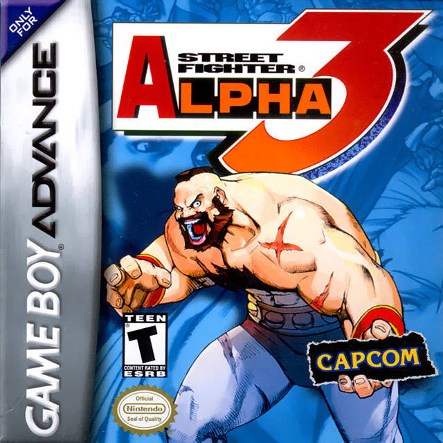 Street Fighter Alpha 3 - Game Boy Advance (Fighting, 2002, US )