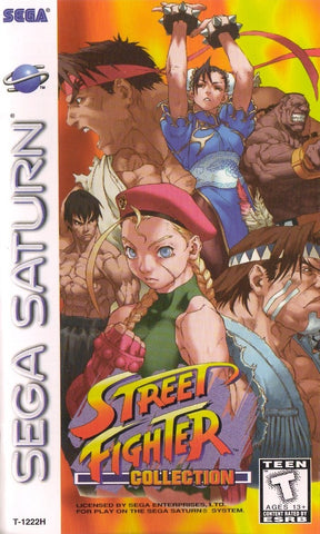 Street Fighter Collection - SEGA Saturn [USED]
