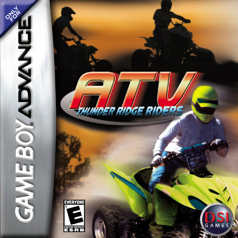 ATV: Thunder Ridge Riders - Game Boy Advance (RAC, 2006, US )