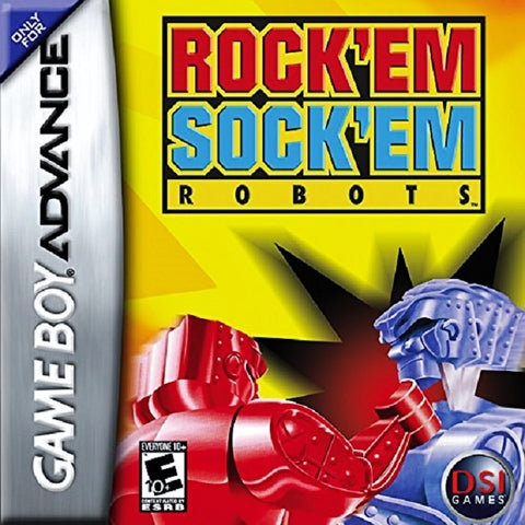 Rock 'Em Sock 'Em Robots - Game Boy Advance [USED]