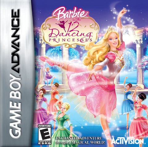 Barbie in The 12 Dancing Princesses - Game Boy Advance [USED]