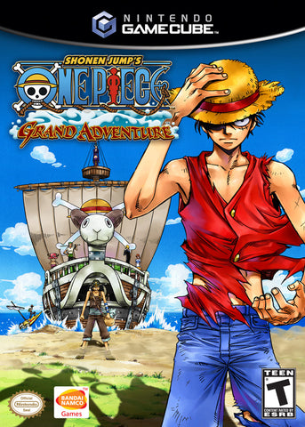 One Piece: Grand Adventure - GameCube [USED]