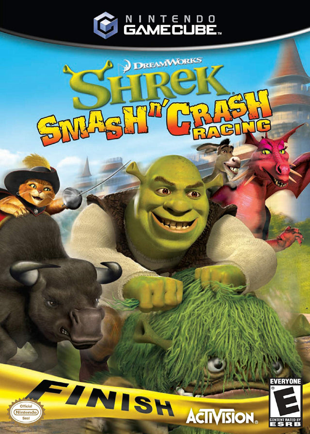 Shrek Smash n' Crash Racing - GameCube [USED]