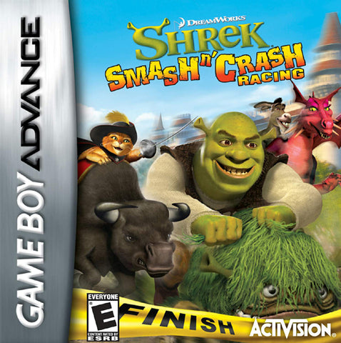 Shrek Smash n' Crash Racing - Game Boy Advance [USED]