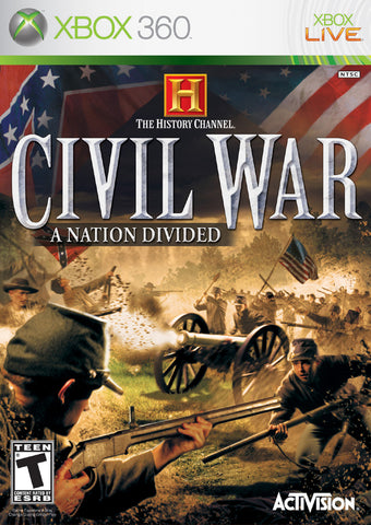 The History Channel: Civil War - A Nation Divided - Xbox 360