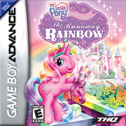 My Little Pony Crystal Princess: The Runaway Rainbow - Game Boy Advance [USED]