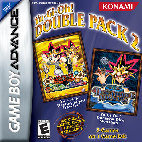 Yu-Gi-Oh! Double Pack 2 - Game Boy Advance [NEW]