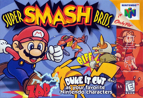 Super Smash Bros. - Nintendo 64 [USED]