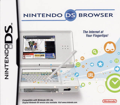 Nintendo DS Lite Web Browser - Nintendo DS
