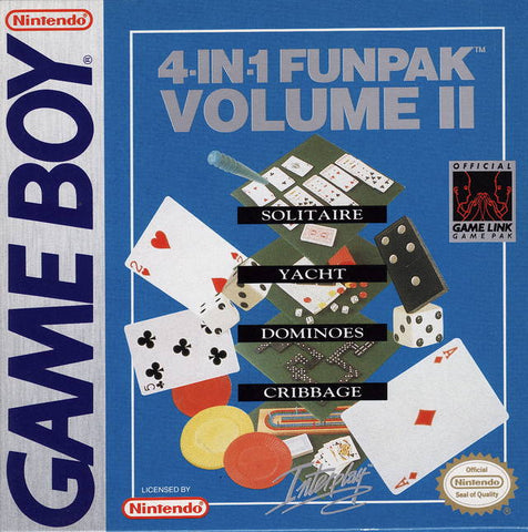 4-in-1 Funpak: Volume II - Game Boy [USED]