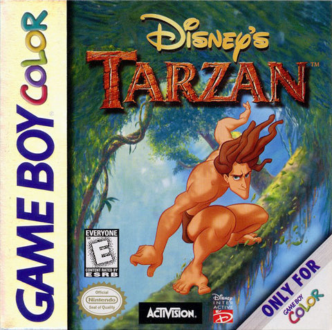 Disney's Tarzan - Game Boy Color [USED]