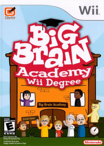 Big Brain Academy: Wii Degree - Nintendo Wii [USED]