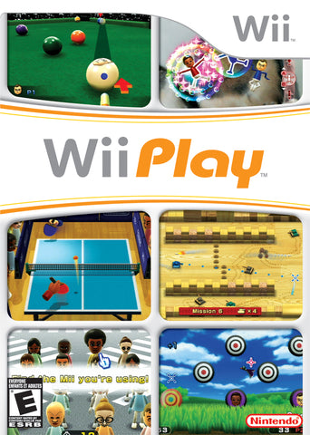 Wii Play - Nintendo Wii [NEW]