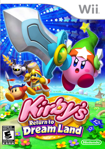 Kirby's Return to Dream Land - Nintendo Wii [USED]