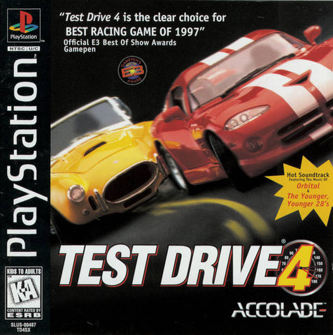 Test Drive 4 - PlayStation