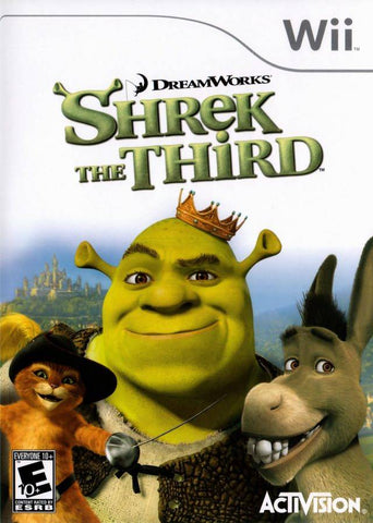 DreamWorks Shrek the Third - Nintendo Wii [USED]