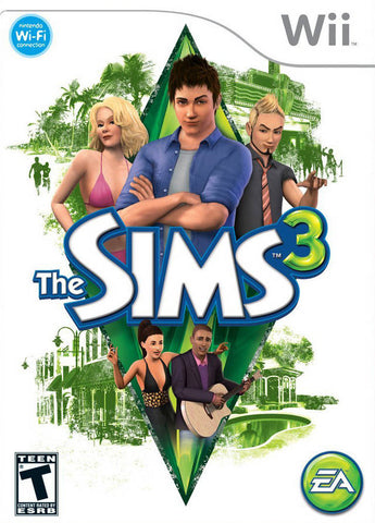 The Sims 3 - Nintendo Wii [USED]