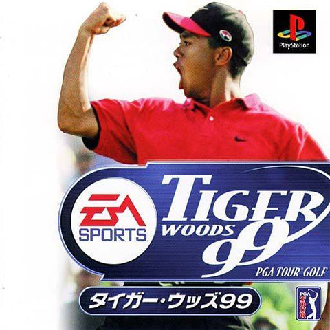 Tiger Woods 99 PGA Tour Golf - PlayStation (Japan)