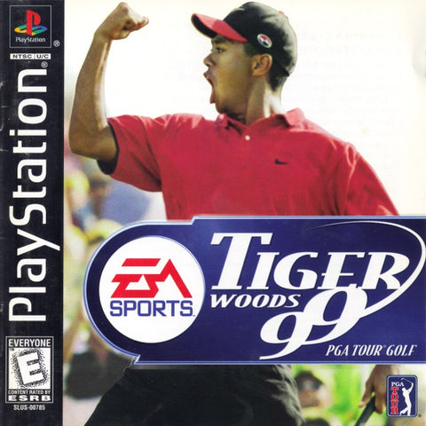 Tiger Woods 99 PGA Tour Golf - PlayStation