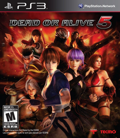 Dead or Alive 5 - PlayStation 3