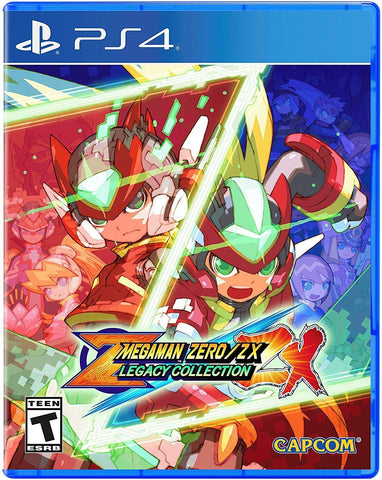 Mega Man Zero/Zx Legacy Collection - PlayStation 4 Standard Edition