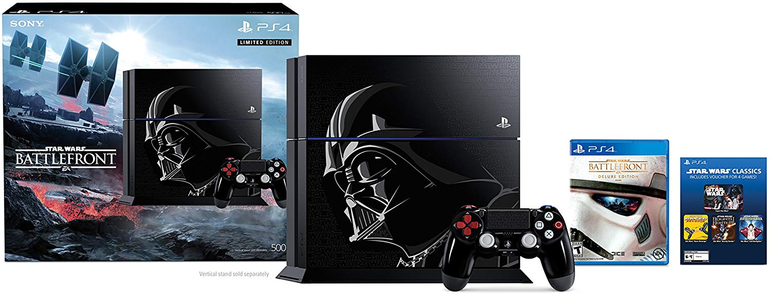 Sony PlayStation 4 500GB Console - Star Wars Battlefront Limited Edition Bundle