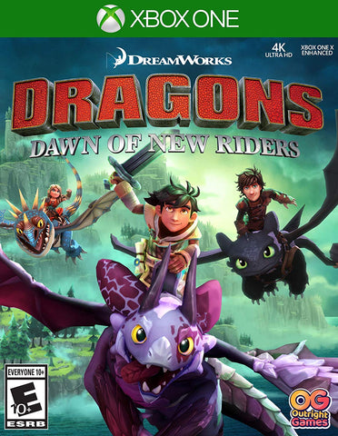 DreamWorks Dragons Dawn of New Riders - Xbox One
