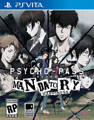 Psycho-Pass: Mandatory Happiness - PS Vita