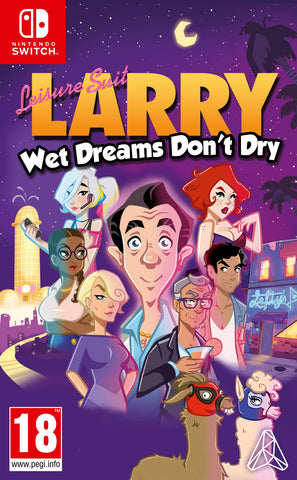 Leisure Suit Larry - Wet Dreams Don't Dry - Nintendo Switch (Europe)