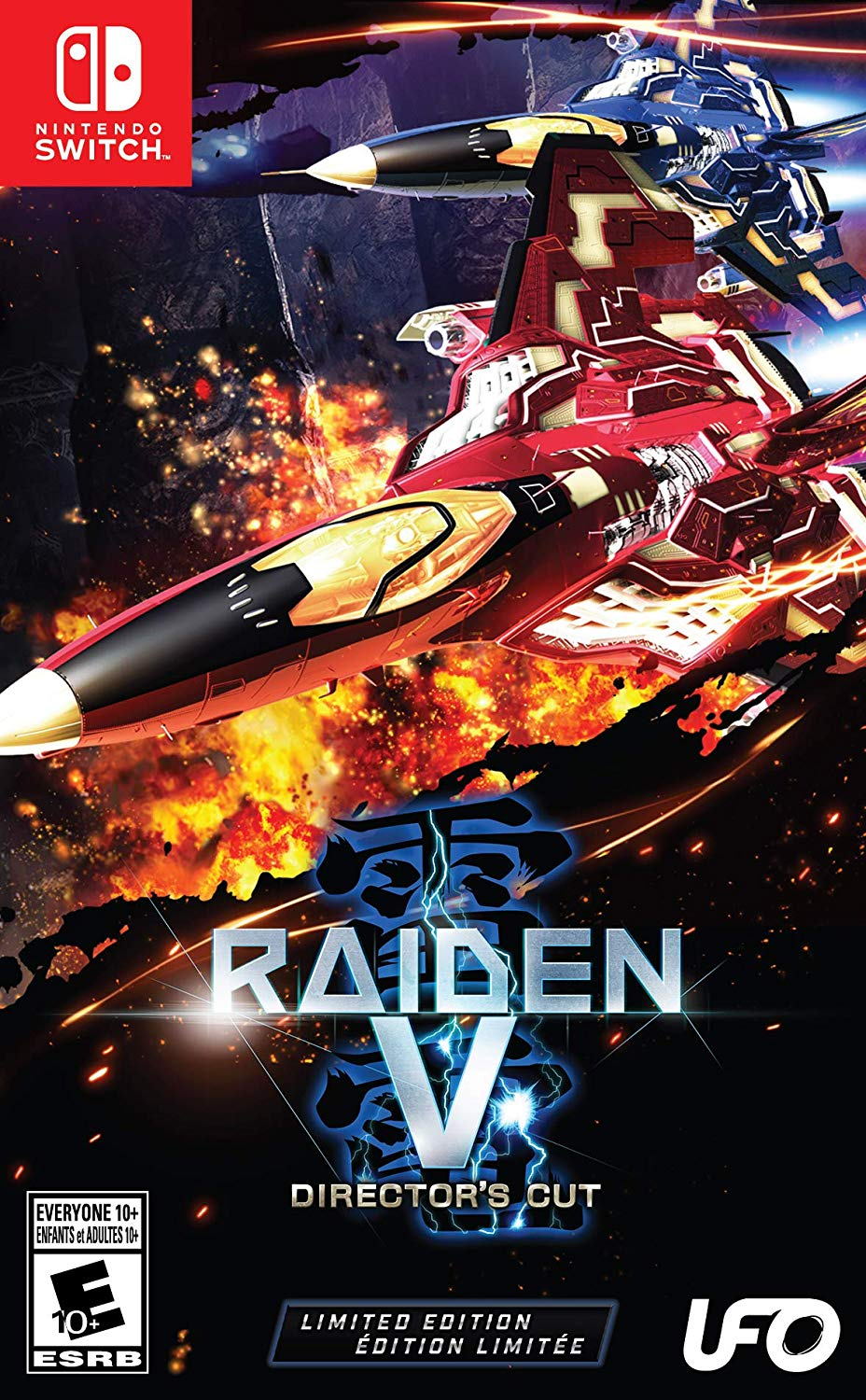 Raiden V: Director's Cut Limited Edition - Nintendo Switch