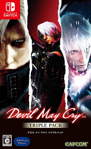 Devil May Cry Triple Pack [Multi-Language] - Nintendo Switch