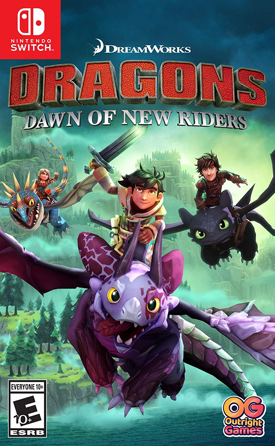 DreamWorks Dragons Dawn of New Riders - Nintendo Switch