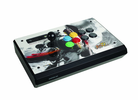 Mad Catz Super Street Fighter IV Arcade FightStick Tournament Edition S - White - Xbox 360